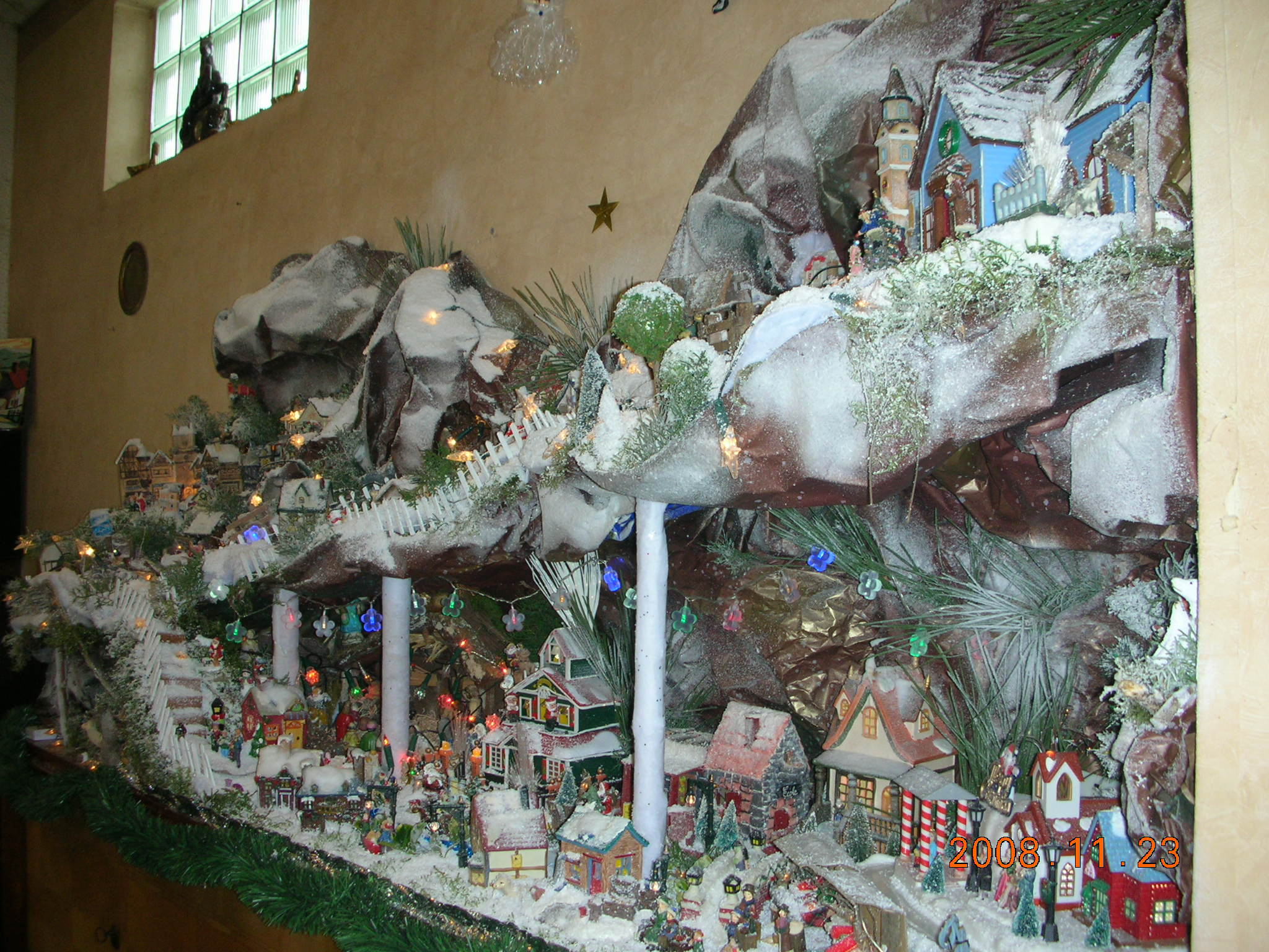Mespassions - Decoration village de noel ...